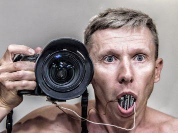 selfie z Panasonic