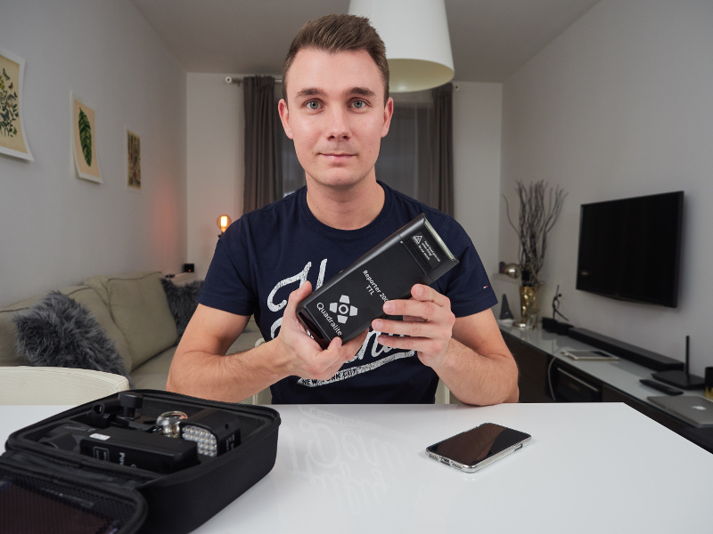 lampy do videobloga