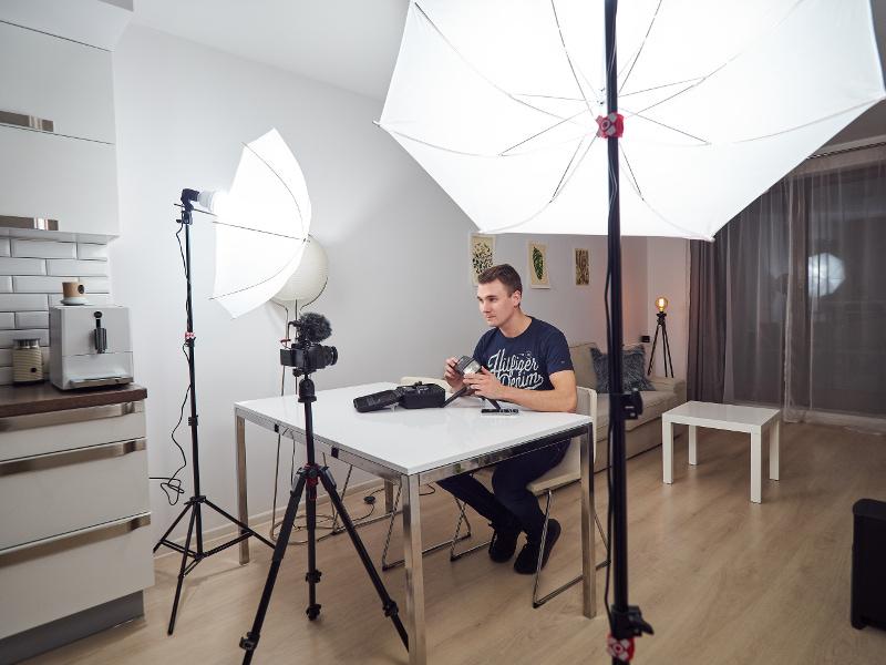 porady dla videoblogera