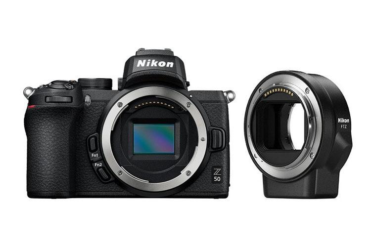 Nikon Z50 + Adapter FTZ