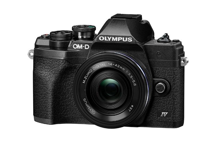 Olympus OM-D E-M10 Mark IV 14-42mm f/3.5-5.6 EZ PANCAKE (czarny)